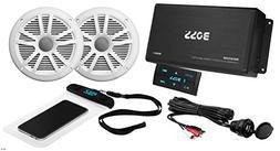 BOSS Audio ASK902B.6 Marine 500 Watt 4 Channel Amplifier / 6