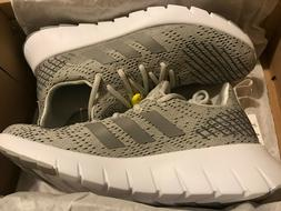 Adidas Asweego Men's Running shoes US 8 Raw White/Grey F3704