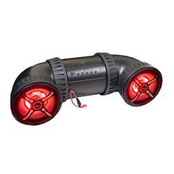 "Bazooka 8"" ATV-TUBE Off Road Bluetooth Speaker System with L"