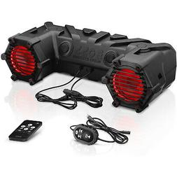 BOSS Audio ATV30BRGB Bluetooth, Amplified,  Multi-Color Illu