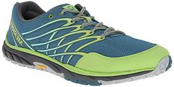Merrell Men's Bare Access Trail Trail Running Shoe, Sea Blue