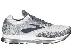 Brooks Bedlam Running Shoes, Men's Sizes 12 Medium, Grey/Whi