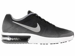 Nike Big Kids' AIR MAX SEQUENT Running Shoes Black/Silver 72