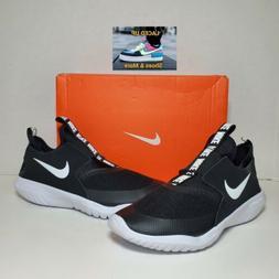 "Nike ""Big Kids"" Flex Runner Running Shoes Black/ White Size"