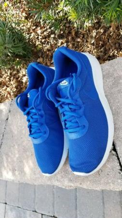 Nike Big Kids Tanjun  Running Shoe, Gym Blue size 7y