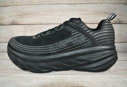 Hoka One One Bondi 6 Running Shoes Black Men's Size 15