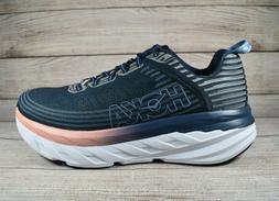 Hoka One One Bondi 6 Running Shoes Blue Women's Size 11 Wide