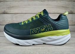 Hoka One One Bondi 6 Running Shoes Green Men's Size 13