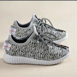 Kids Breathable Running Sneakers Easy Walk Sport Casual Shoe