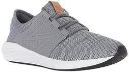 New Balance Boys' Cruz V2 Fresh Foam Running Shoe, Gunmetal,