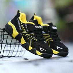 Boys Girls Shoes Casual Mesh Breathable Children Running Spo