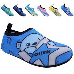 BODATU Boys' Girls' Swim Water Shoes Kids Quick Dry Barefoot