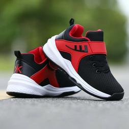 Boys Sneakers Sporty Running Walking Shoes Big Kids Youth At