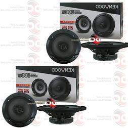 4 New Kenwood KFC-1695PS 6.5 640 Watt 3-Way Car Audio Coaxial Speakers Stereo by Kenwood