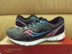 Saucony Breakthru Women's Size 8.5 Running Shoes Gray/Pink/B