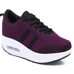 Breathable Non-Slip Running Shoes Female Air Cushioning Plat