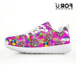 Breathable Running Sport Tennis Shoes Athletic School Casual