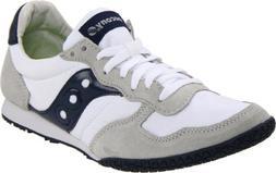 Saucony Originals Men's Bullet Classic Sneaker,White/Navy,10