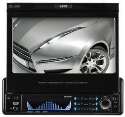 BOSS Audio BVI9994 In-Dash Single-Din 7-inch Motorized Detac