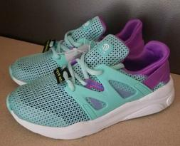 C9 champion Cushion Fit Youth Girls Running Shoes Turquoise/