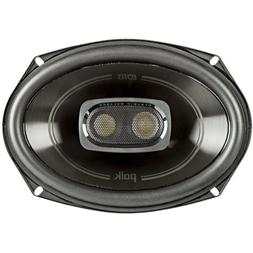 Polk 6x9 Inch 450W 3-Way Car Marine ATV Coaxial Speakers - D
