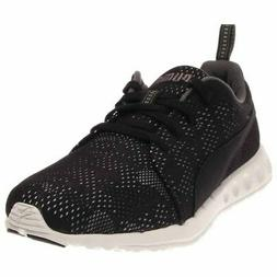 Puma Carson Runner Camo Mesh Running Shoes - Black - Mens