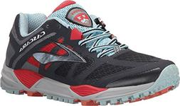 Brooks Women's Cascadia 11 Anthracite/Hibiscus/Crystal Blue