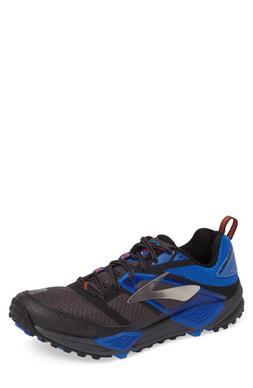 Men's Brooks Cascadia 12 Trail Running Shoe, Size 10 D - Gre