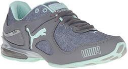 PUMA Women's Cell Riaze Heather Cross-Trainer Shoe, Steel Gr
