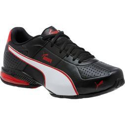 Puma CELL Surin 2 FM Men's Running Shoes black white ribbon