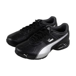 Puma Cell Surin 2 Fm Mens Black Leather Athletic Lace Up Run