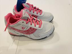 Champion Girl's Running athletic Shoes Sneakers WHITE/PINK S