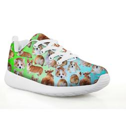 Children Sport Shoes Cute Many Dog Sneakers Outdoor Run shoe