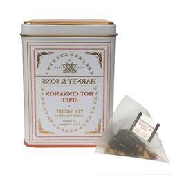 Harney and Sons Classic Hot Cinnamon Spice Tea, 20 Tea Sache