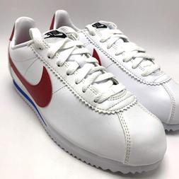 Nike Classic Cortez Leather Women's Running Shoes White/Vars