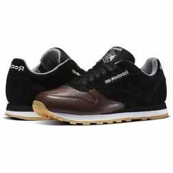 Reebok Classic Leather LR Men's Running Training Shoes Black