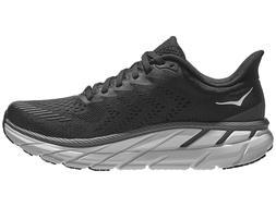 HOKA ONE ONE Clifton 7 Women's Shoes Black / White Running S
