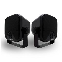 Herdio 100W 4 inch Compact Waterproof Bluetooth Marine Stere