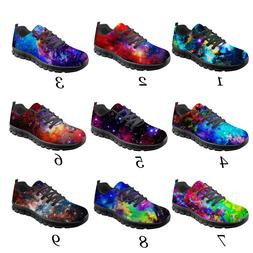 Cool Galaxy Men's Running Shoes Outdoor Gym Shoes Soft For