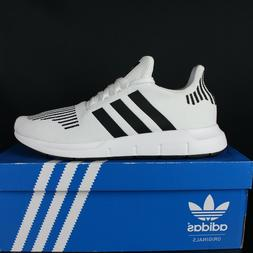 ADIDAS CQ2116 White Black Grey Swift Run Mens Running Shoes