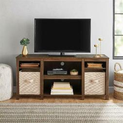 Cubby TV Stand for TVs up to 50 Inches Home Living Room Stor