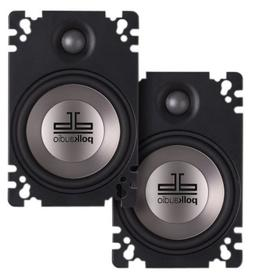Polk Audio DB461P 4x6-Inch Coaxial Plate-Style Speakers
