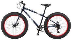 "26"" Mongoose Dolomite Men's 7-speed All-Terrain Fat Tire Mou"