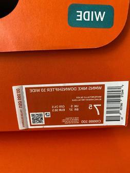 Nike Downshifter 10  Wide Women's Running Shoes size 7.5 wid