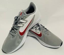 Nike Downshifter 9 4E Men's Running Shoe Extra Wide Grey Red