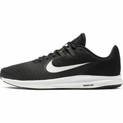 Nike Downshifter 9 Men's Running Shoes. Color- Black/White.