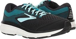 Brooks Women's Dyad 10 Black/Island/Capri 10.5 D US D - Wide