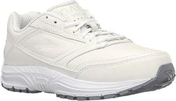 Brooks women's Dyad Walker, White, 9.5 B-Medium