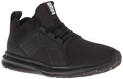 PUMA Men's ENZO Sneaker, Black, 11.5 M US