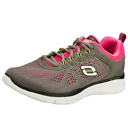 Skechers Equalizer New Milestone Womens Sneakers Charcoal/Pi